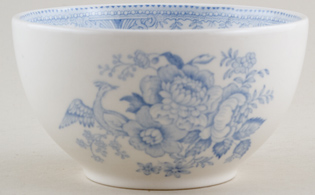 Burleigh Asiatic Pheasants Sugar Bowl large