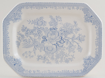 Burleigh Asiatic Pheasants Meat Dish or Platter rectangular small