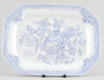 Meat Dish or Platter rectangular medium small