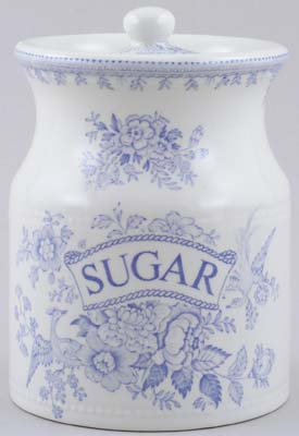 Burleigh Asiatic Pheasants Storage Jar SUGAR