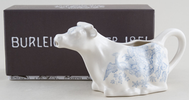 Burleigh Asiatic Pheasants Cow Creamer Boxed