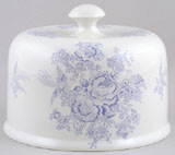 Burleigh Asiatic Pheasants Cheese Dish Stilton Cover