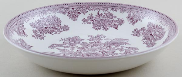 Burleigh Asiatic Pheasants plum Pasta Bowl