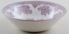 Burleigh Asiatic Pheasants plum Cereal or Dessert Bowl