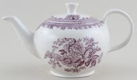 Burleigh Asiatic Pheasants plum Teapot small