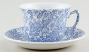 Burleigh Burgess Chintz Teacup and Saucer