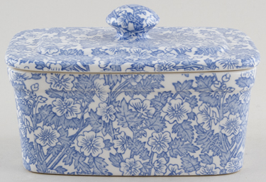 Burleigh Burgess Chintz Butter Dish with Cover