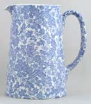 Burleigh Burgess Chintz Jug or Pitcher Tankard large
