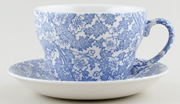 Burleigh Burgess Chintz Breakfast Cup and Saucer