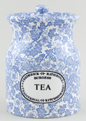 Burleigh Burgess Chintz Storage Jar TEA