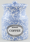 Burleigh Burgess Chintz Storage Jar COFFEE