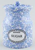 Burleigh Burgess Chintz Storage Jar SUGAR