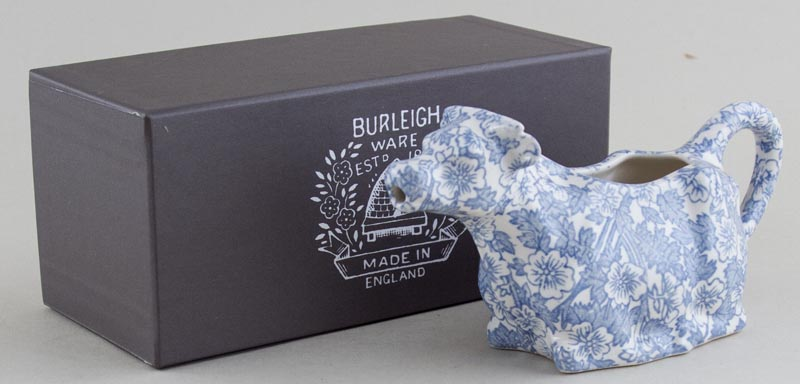 Burleigh Burgess Chintz Cow Creamer Boxed