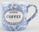 Burleigh Burgess Chintz Mug Coffee