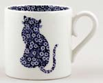 Burleigh Calico Cat Childs Mug