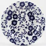 Burleigh Calico Dinner Plate Accent