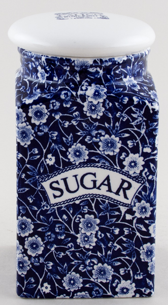 Burleigh Calico Storage Jar SUGAR square