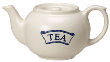 Burleigh Pantry Range Teapot TEA small