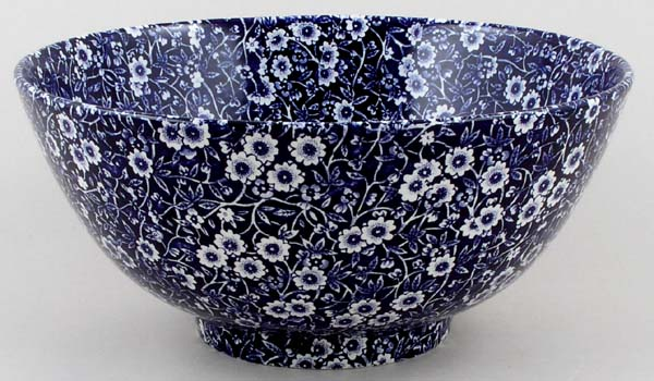 Burleigh Calico Chinese Bowl large