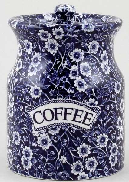Burleigh Calico Storage Jar COFFEE