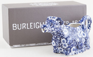 Burleigh Calico Cow Creamer Boxed