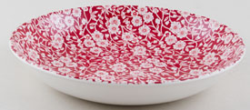 Burleigh Calico red Pasta Bowl