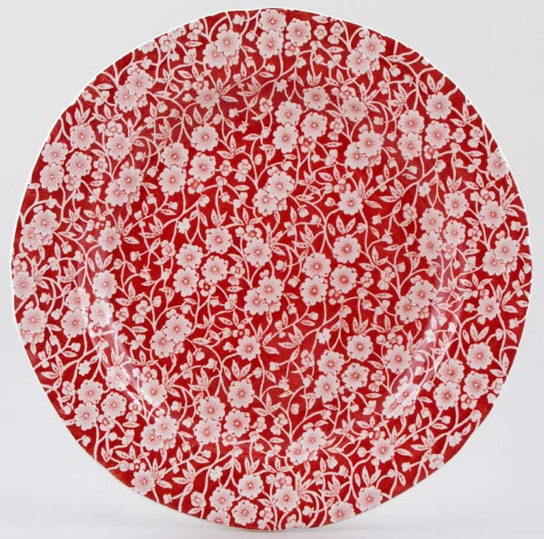 Burleigh Calico red Dinner Plate