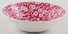 Burleigh Calico Red Cereal or Dessert Bowl