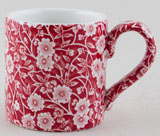 Burleigh Calico red Mug