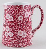Burleigh Calico red Jug or Pitcher Tankard small
