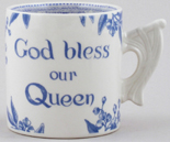 Burleigh Diamond Jubilee Commemorative Mug