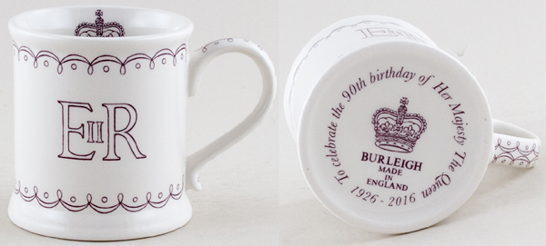 Burleigh Queen's Birthday Commemorative Mug