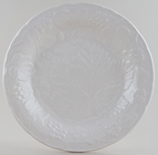 Burleigh Davenport white Lunch Plate
