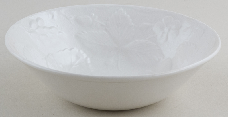 Burleigh Davenport white Cereal or Dessert Bowl