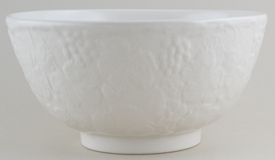 Burleigh Davenport white Chinese Bowl large