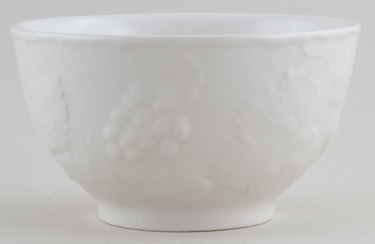Burleigh Davenport white Sugar Bowl large