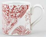 Burleigh Engravers Collection pink Mug