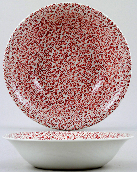 Burleigh Felicity red Dessert or Soup Bowl