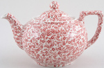 Burleigh Felicity red Teapot small