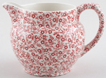Burleigh Felicity red Jug or Pitcher Dutch small