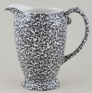 Burleigh Felicity black Jug or Pitcher Princess