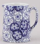 Burleigh Gentian dark Jug or Pitcher Tankard mini