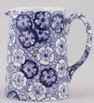 Burleigh Gentian dark Jug or Pitcher Tankard small