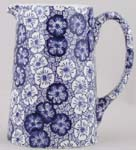 Burleigh Gentian dark Jug or Pitcher Tankard medium