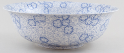 Burleigh Gentian Fruit or Salad Bowl large