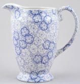 Burleigh Gentian Jug or Pitcher Princess