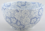 Burleigh Gentian Sugar Bowl large