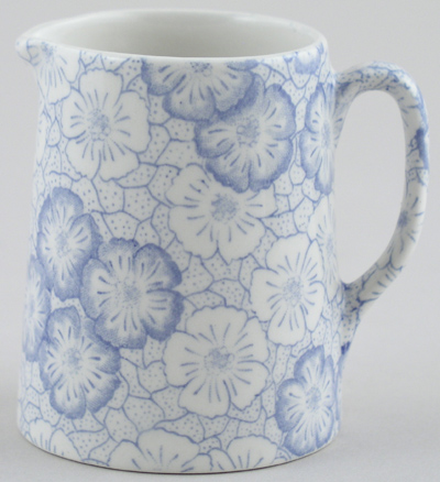 Burleigh Gentian Jug or Pitcher Tankard mini