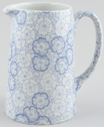Burleigh Gentian Jug or Pitcher Tankard medium