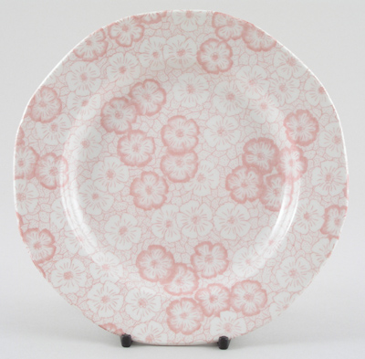 Burleigh Gentian pink Side or Cheese Plate